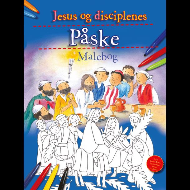 Malebog - Jesus og disciplenes Påske