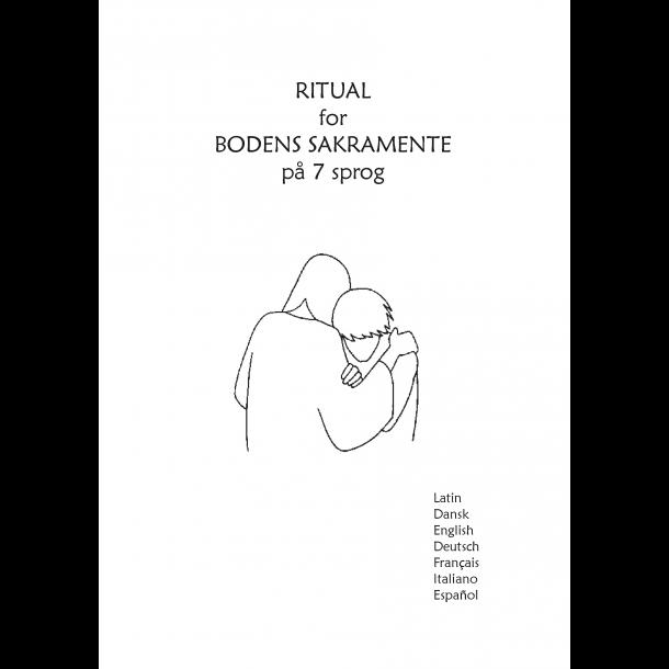 Ritual for Bodens Sakramente på 7 sprog